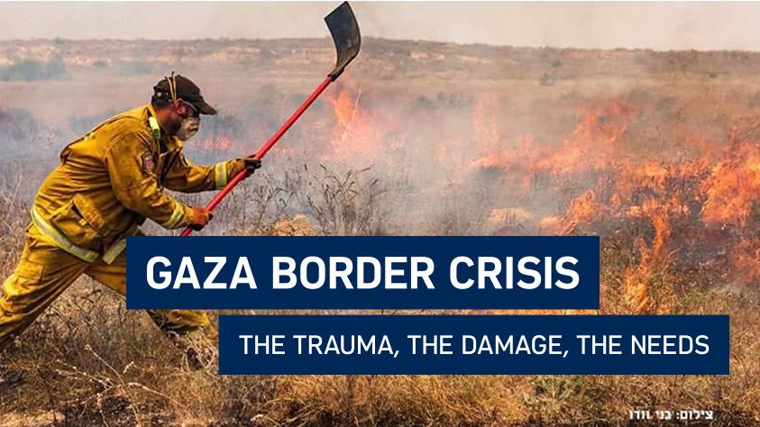 Gaza Border Crisis Image