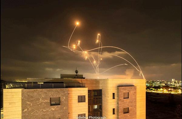 gaza envelope rockets photo