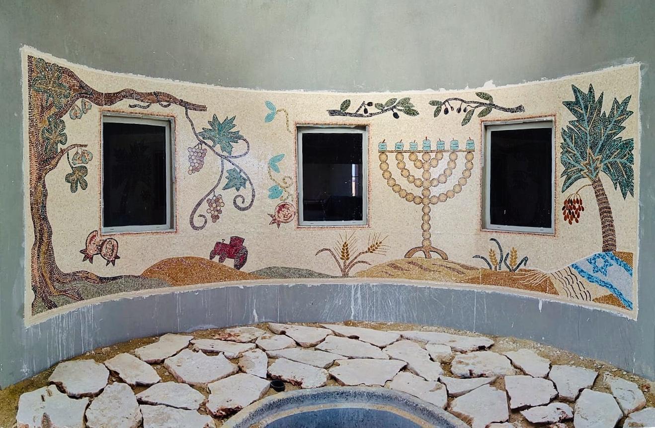 Naveh synagogue Halutza