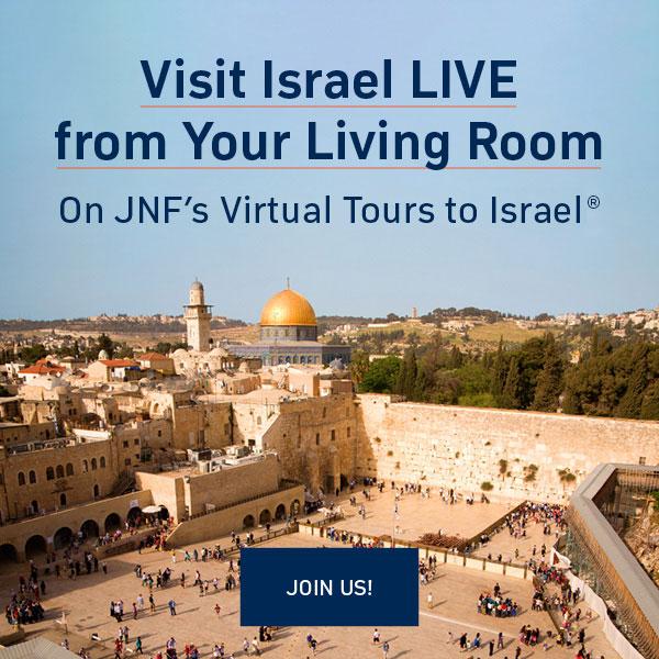 JNF Virtual Tours to Israel