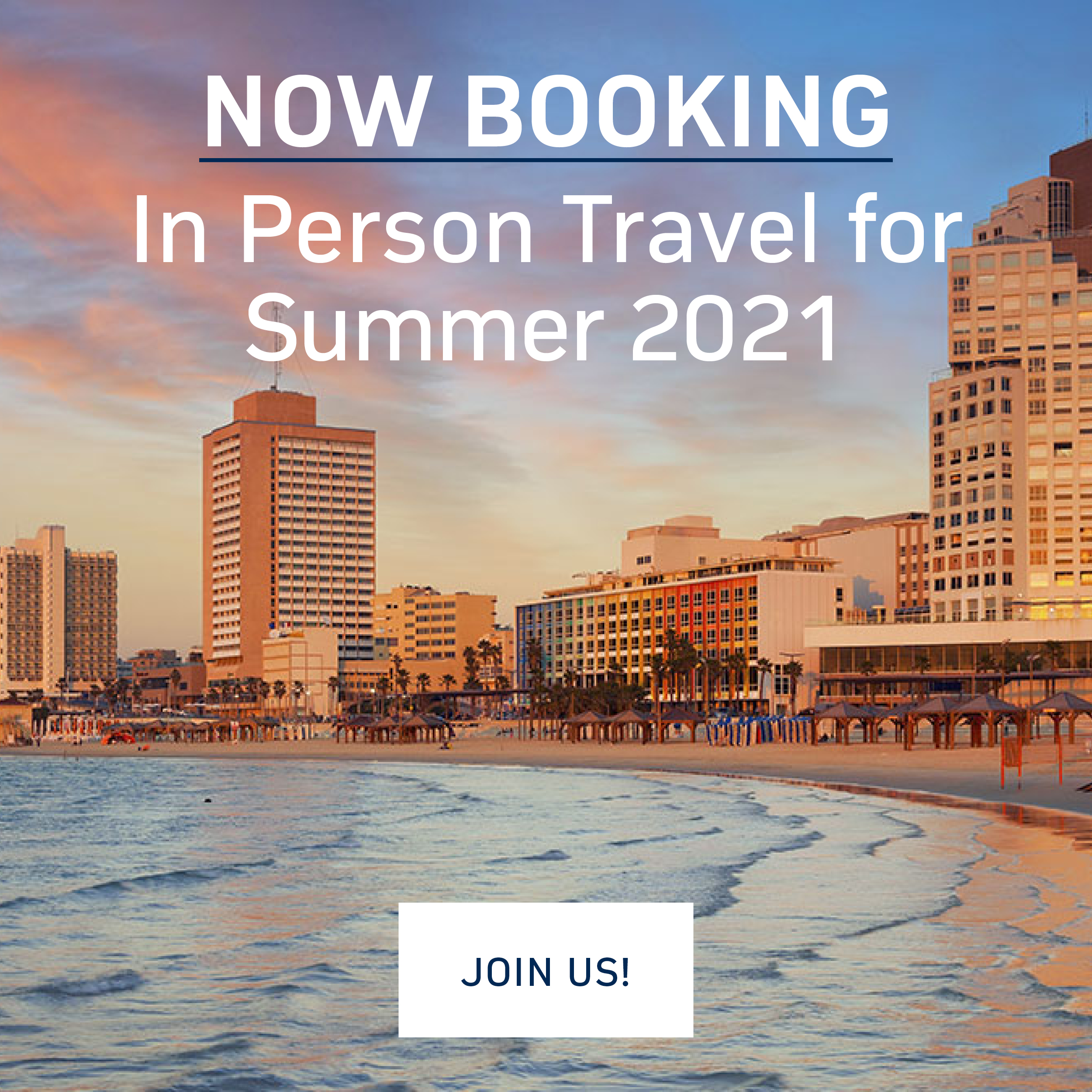 JNF in Person Travel for Summer 2021