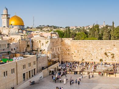 Jerusalem and Western Wall