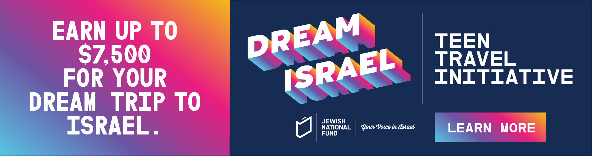 Banners_Dream Israel_950x250