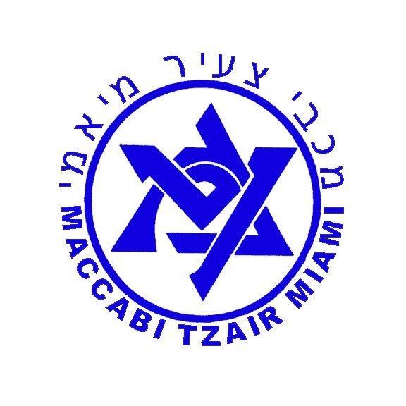 Maccabi Tzair Miami Logo