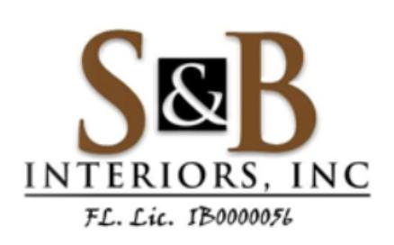 S&B Interiors logo