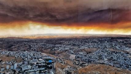 Jerusalem Fires 1