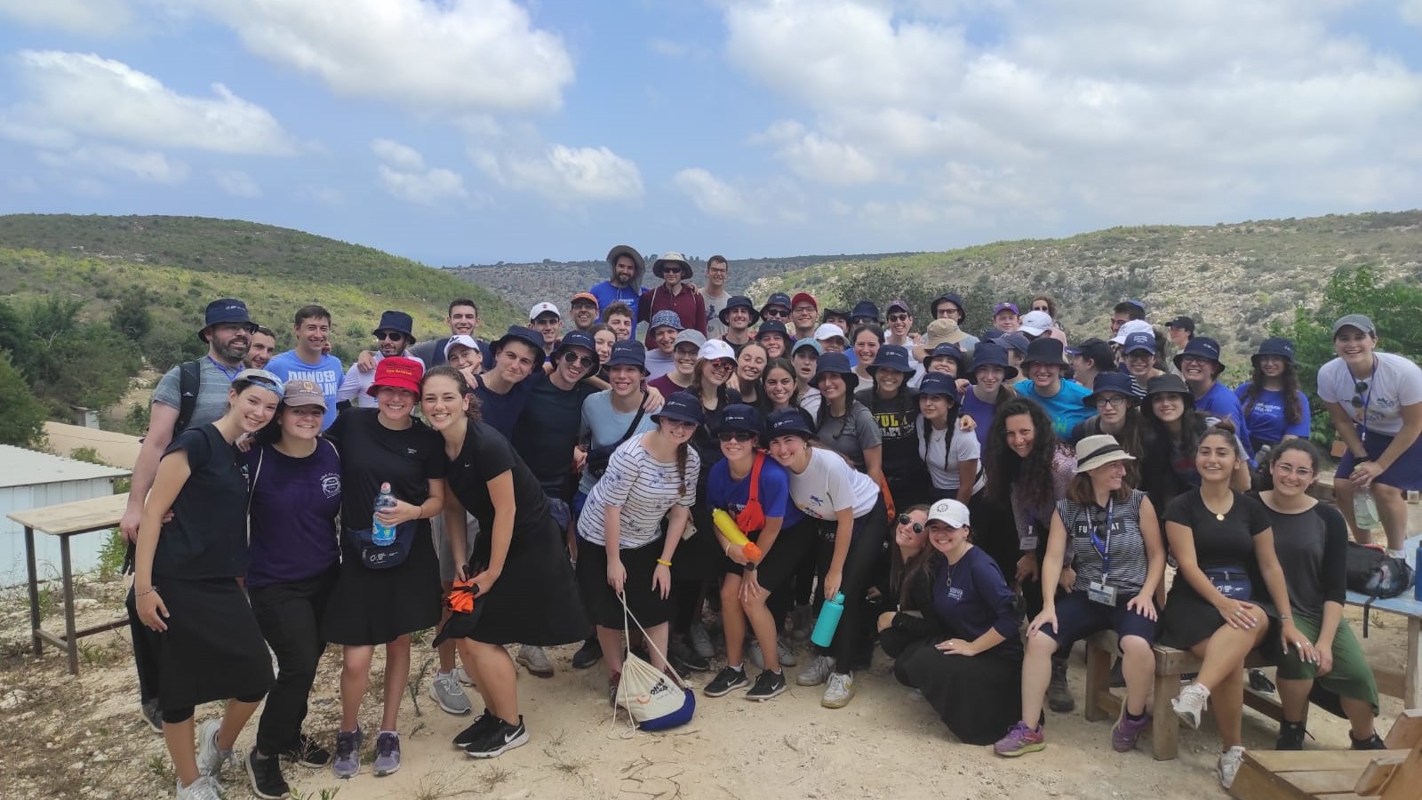 JNF-USA Alternative Break participants in Israel 2