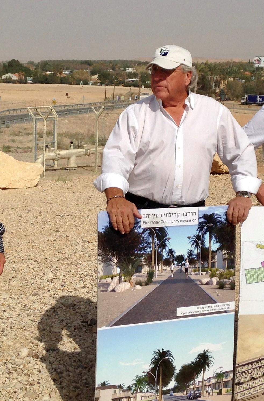Rubin Pikus at Ein-Yahav HDF site